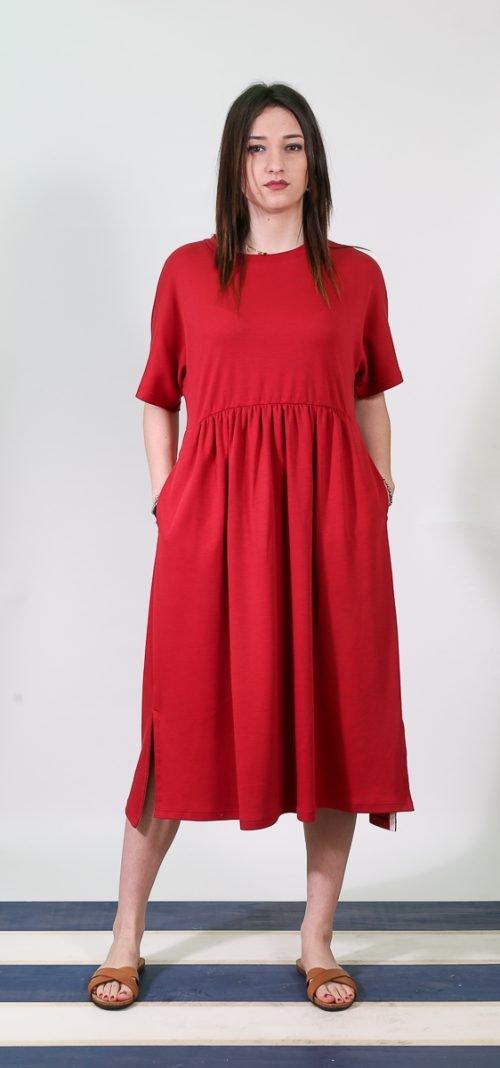 abito cotone rosso | Max Mara Leisure