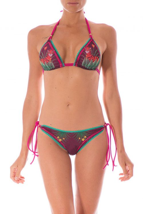 bikini rete tigri | pin up stars