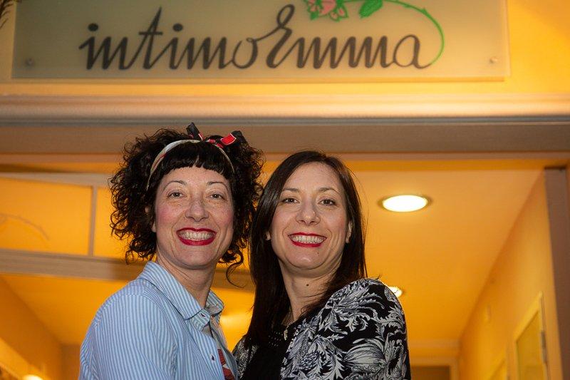IntimoEmma Azzurra e Chiara Mantellassi