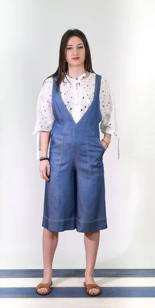 tuta in jeans | Emma&Gaia