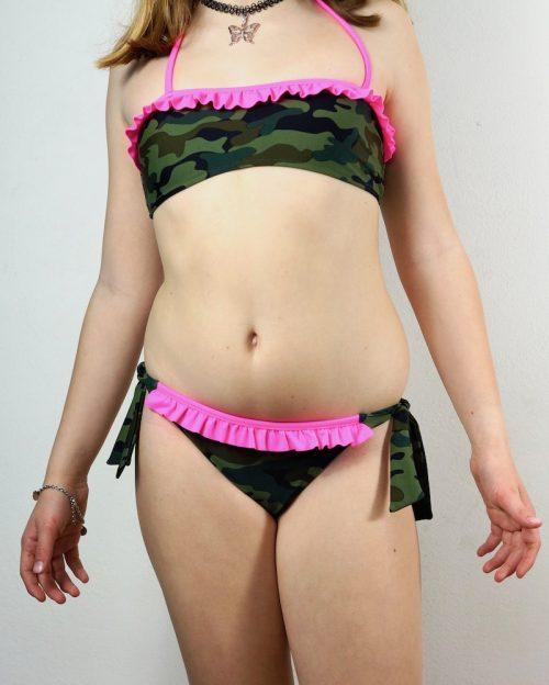 bikini bimba camouflage sundek