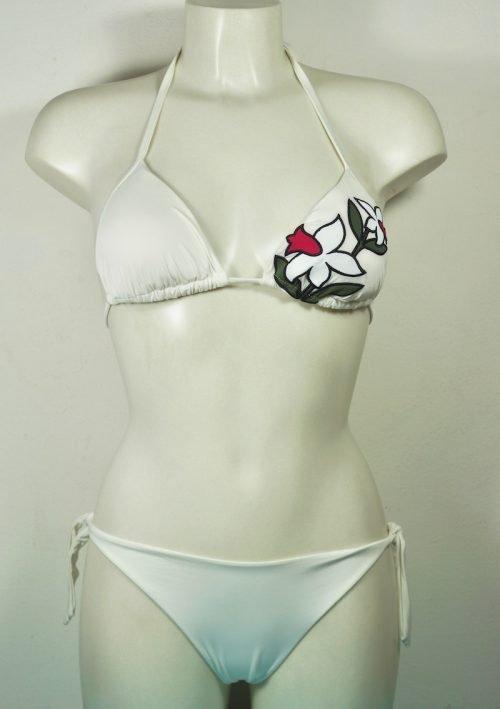 bikini triangolo ricamo | twin set