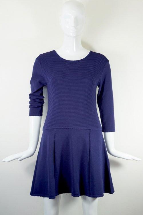 abito blu tennista