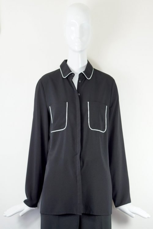 camicia nera Emma&Gaia