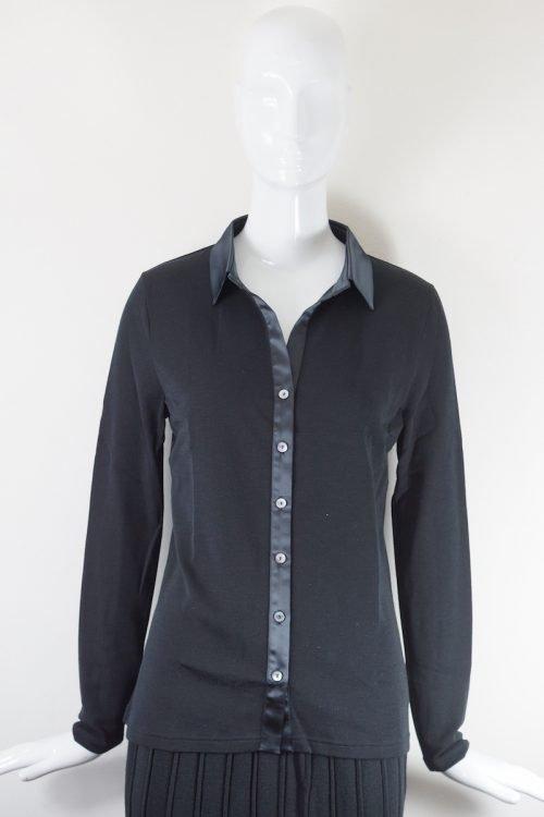 camicia lana e seta Oscalito