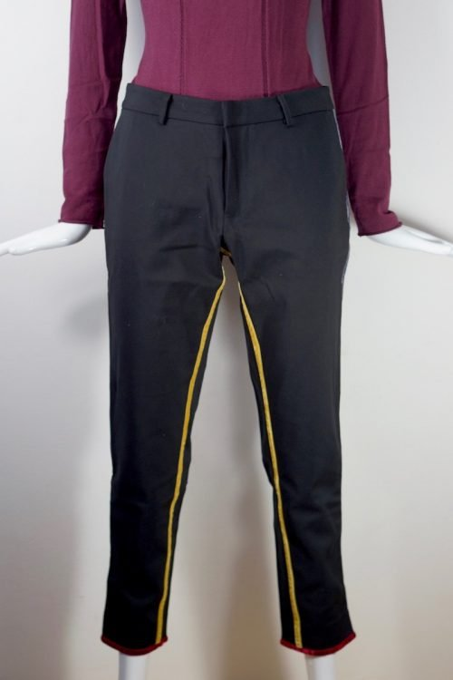 pantalone velluto inserti | Emma&Gaia