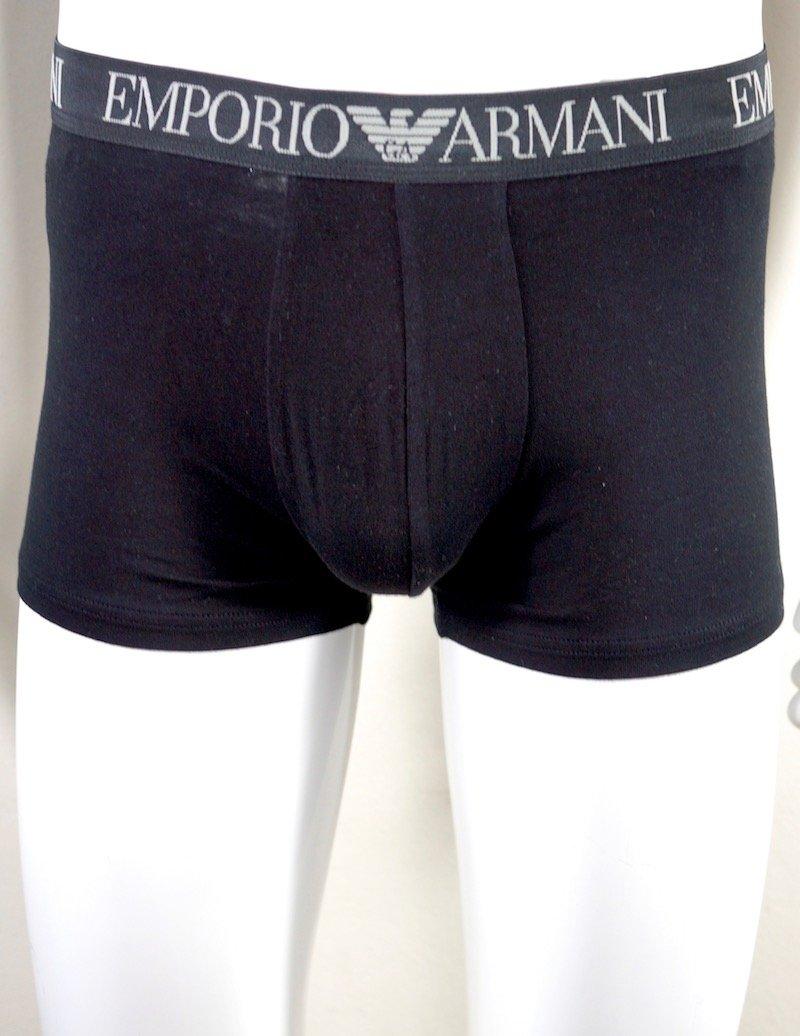 bipack boxer grigio e nero Emporio Armani
