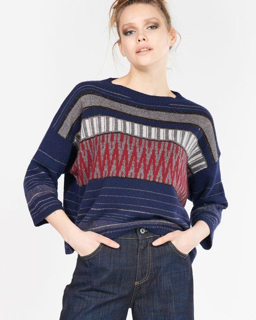 maglia blu B.yu