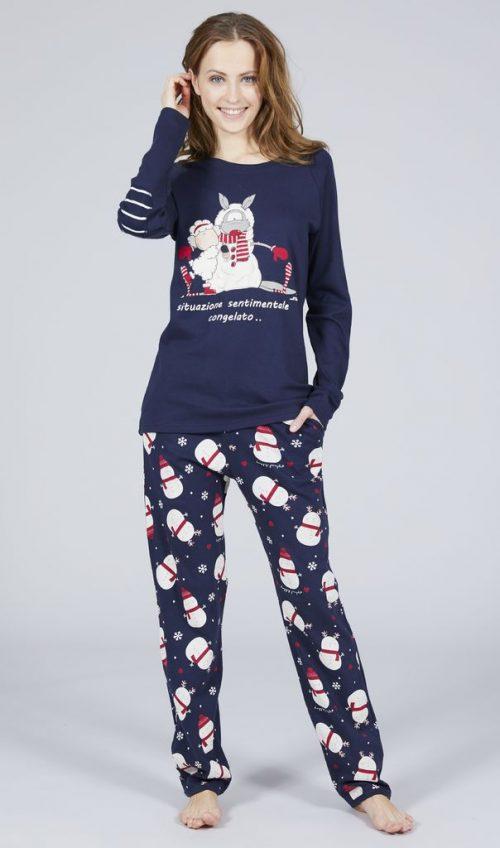 4765 pigiama donna natale