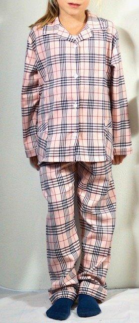 pigiama bimba madras tessuto