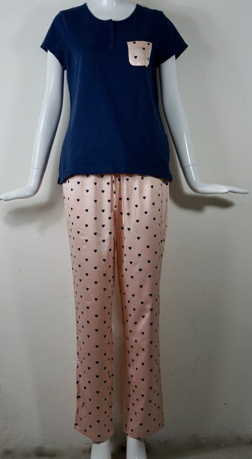 pigiama donna mezza manica Aznar