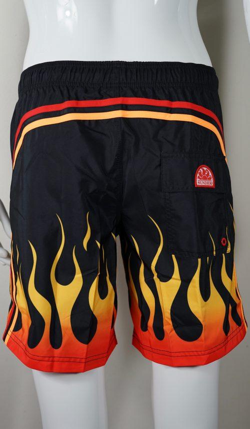 boxer fiamme Sundek uomo