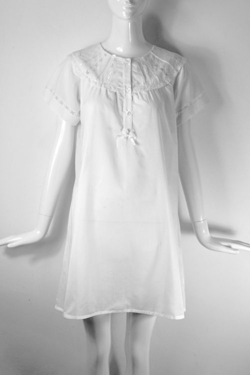 camicia vintage pizzo