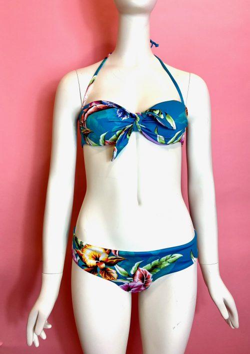 bikini fascia fiori Sundek
