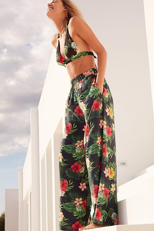pantalone fiori Sundek